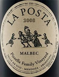 La Posta Malbec 2008