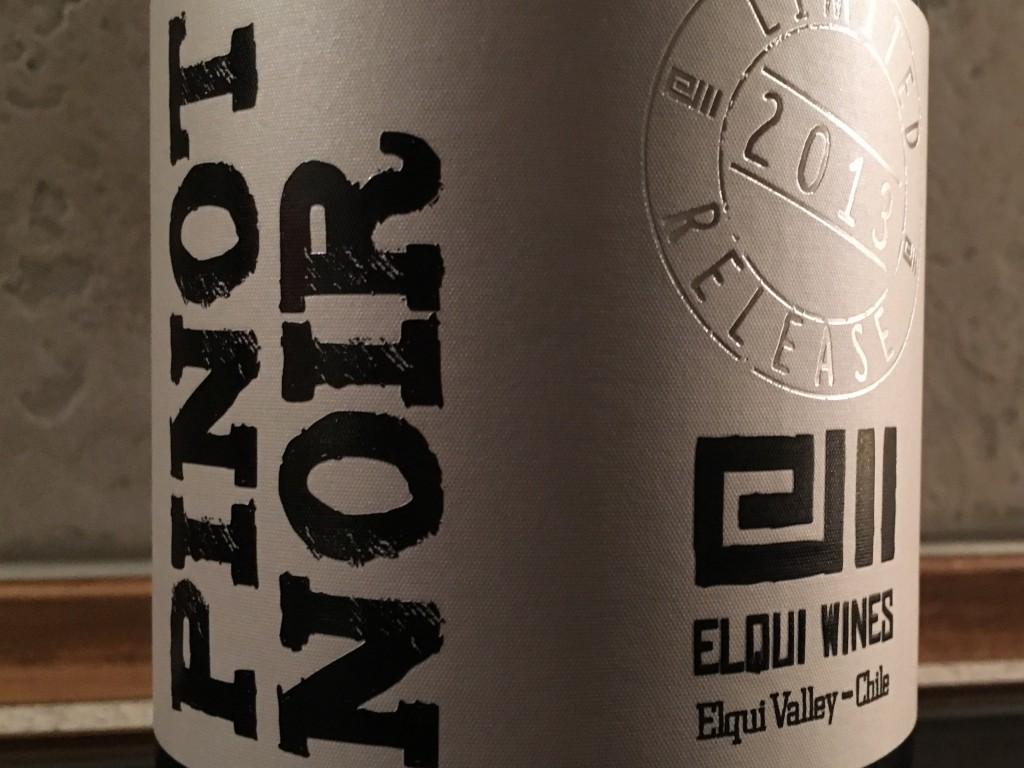 Fantastisk chilensk Pinot Noir