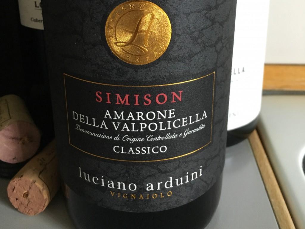 Storladen og tung Amarone