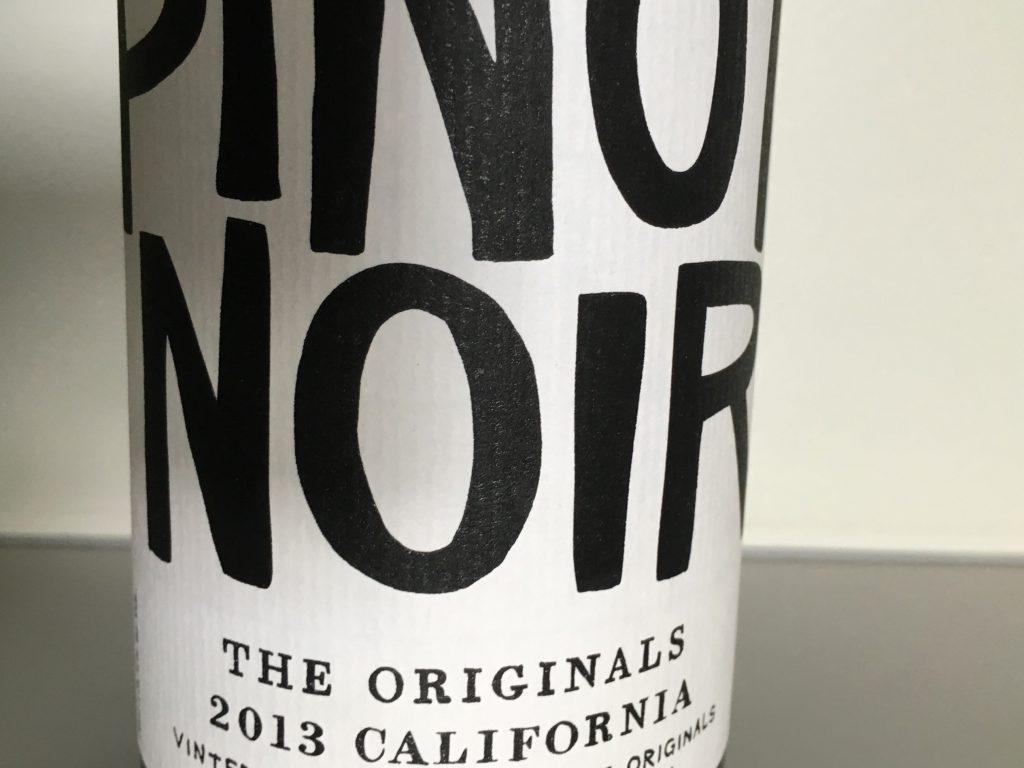 Original og fyldig amerikansk Pinot Noir