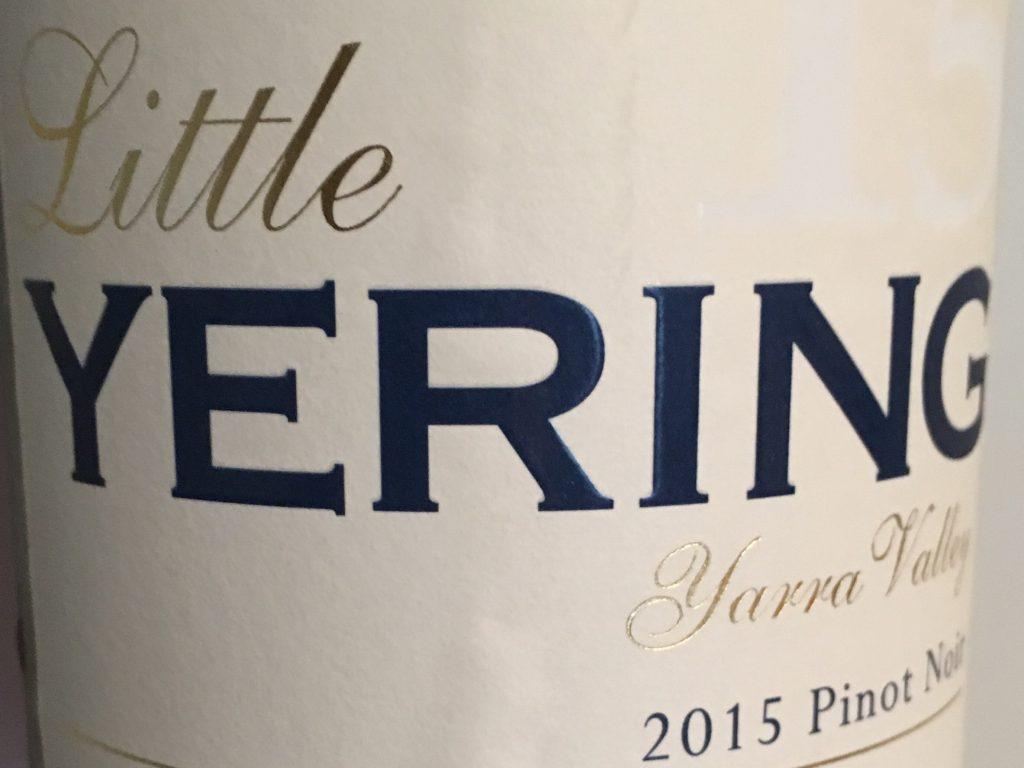 Atypisk australsk Pinot Noir
