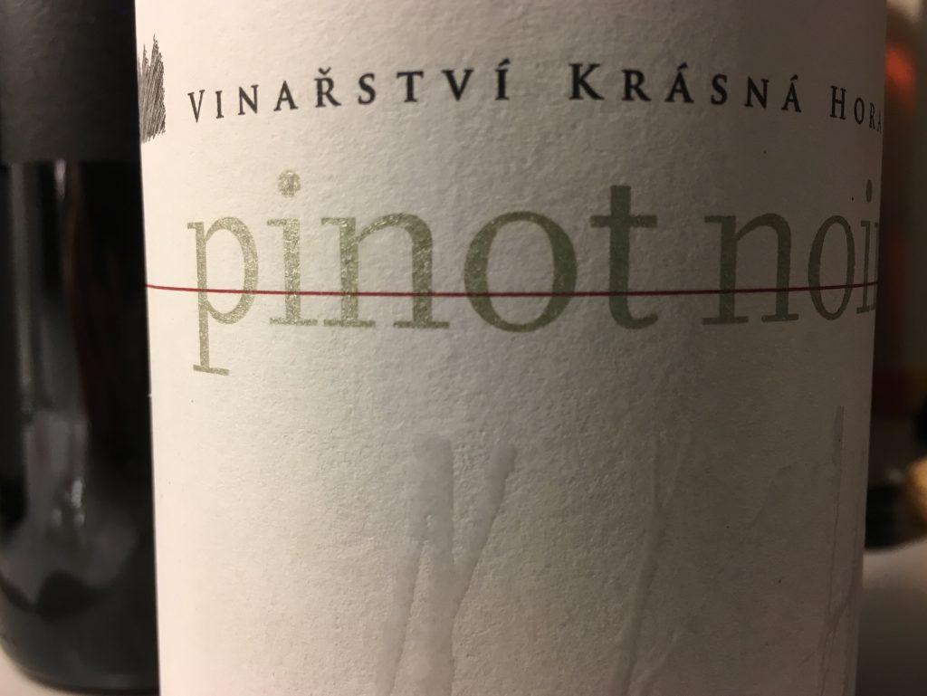 Forrygende tjekkisk Pinot Noir