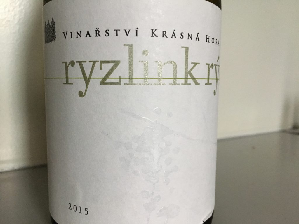 Tjekket tjekkisk Riesling