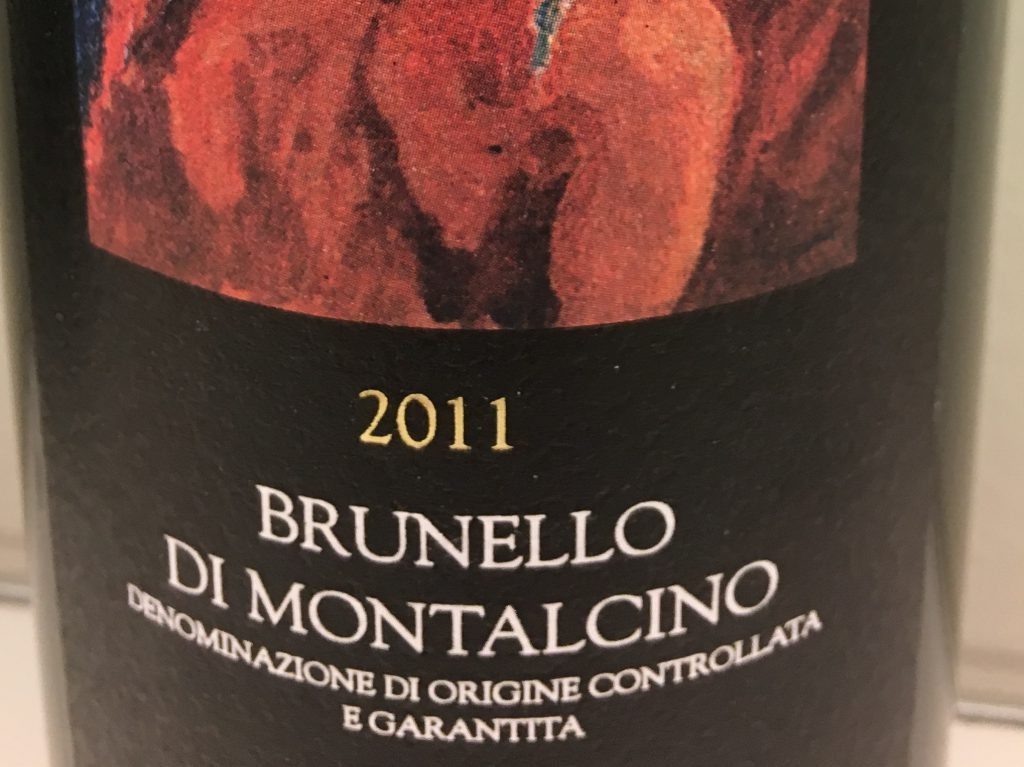 Brunello med flot dybde