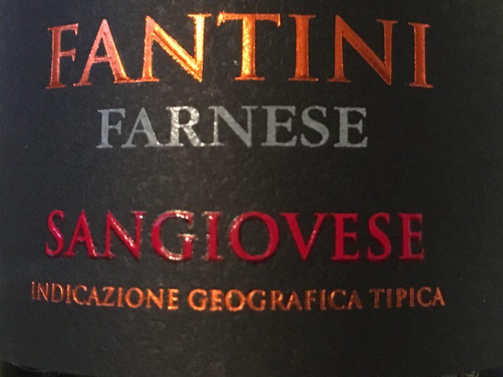 Særlig syditaliensk Sangiovese