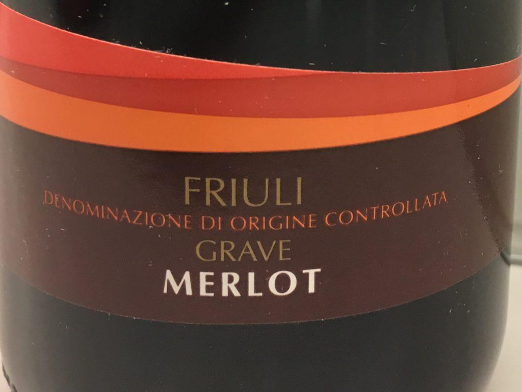 Blød og blid Friuli-Merlot