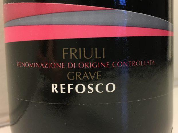 Klassisk Refosco til særlige smagsløg