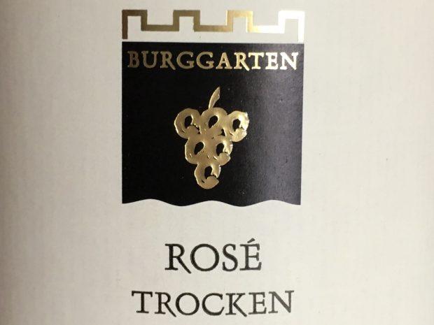 Klasse rosé fra Burggarten