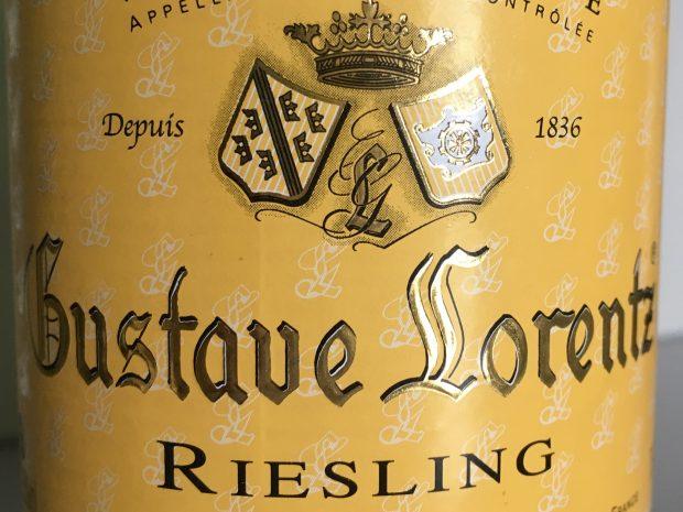 Rundhåndet Riesling fra Alsace