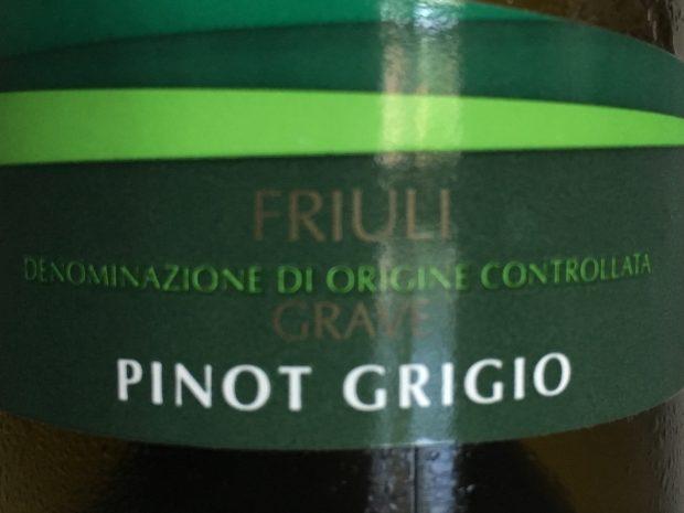 Fornem balance i Pinot Grigio
