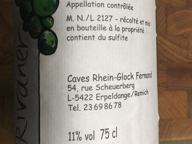 Frisk Rivaner fra Luxembourg