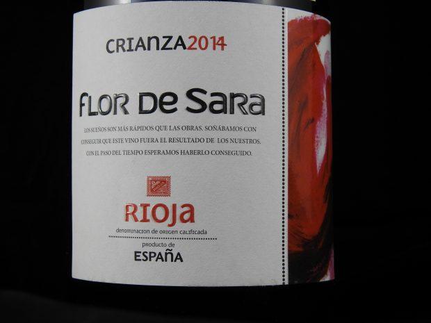 Skarp Crianza fra Rioja
