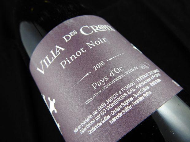 Pinot Noir med rigeligt mange indtryk