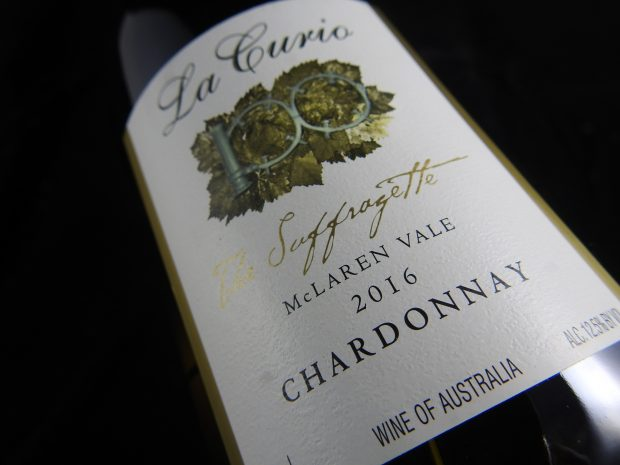 Fed og rund australsk Chardonnay