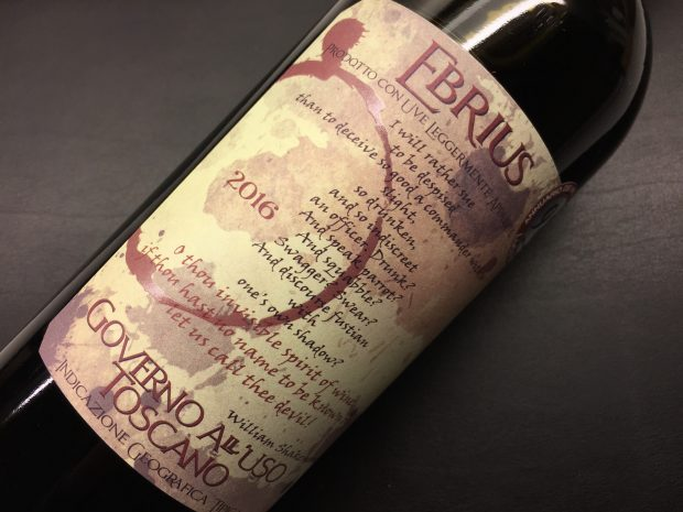 Brillante Ebrius fra Toscana