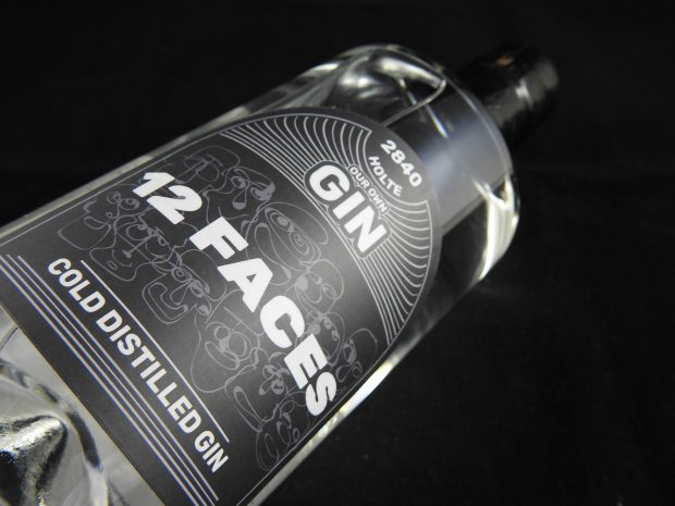 Gin med fortrinlig tonic-appel