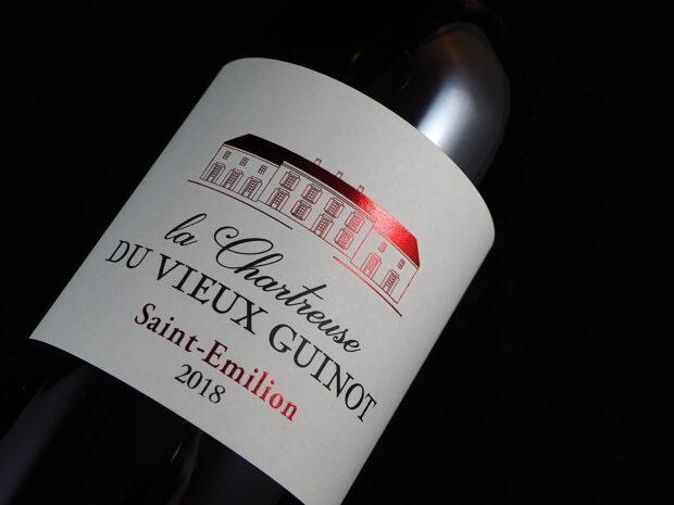 Bordeaux med ung vildskab
