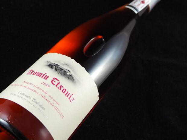 Tjekket Txakoli-rosé står i skyggen af sin hvide fætter